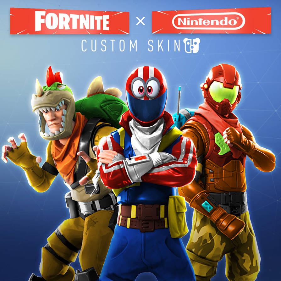Nintendo X Fortnite By Peterisbeter On Deviantart