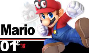Super Smash Bros. Ultimate Mario Cappy