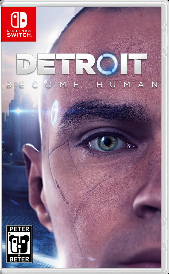 Detroit Become Human Nintendo Switch by PeterisBeter on DeviantArt