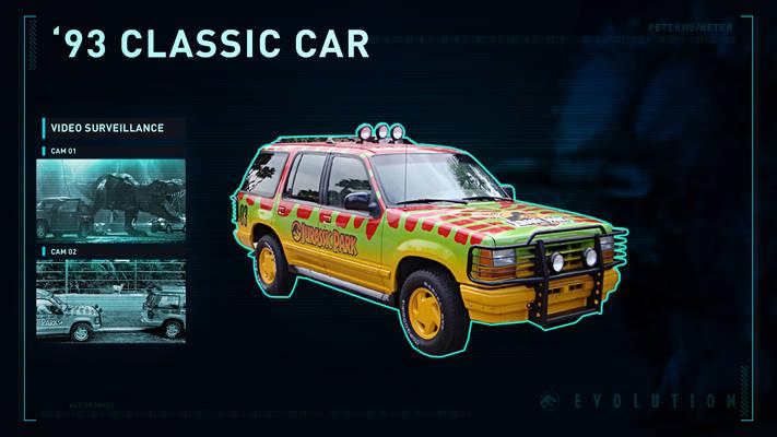 Jurassic World Evolution 1993 Classic Car