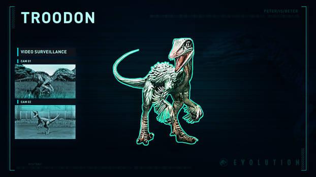 Jurassic World Evolution Troodon