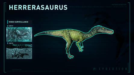 Jurassic World Evolution Herrerasaurus