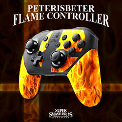 Super Smash Bros. Ultimate Flame Controller