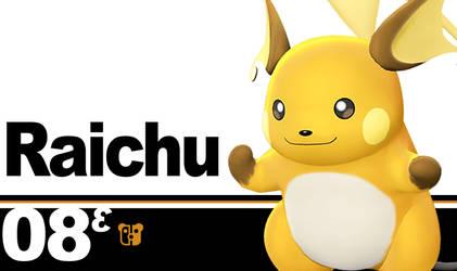 Super Smash Bros. Ultimate Raichu