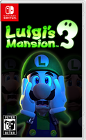 Luigi's Mansion 3 Nintendo Switch Cover by PeterisBeter