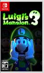 Luigi's Mansion 3 Nintendo Switch Cover