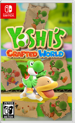 Yoshi's Crafted World Nintendo Switch Cover by PeterisBeter
