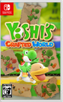Yoshi's Crafted World Nintendo Switch Cover
