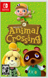 Animal Crossing Nintendo Switch Cover