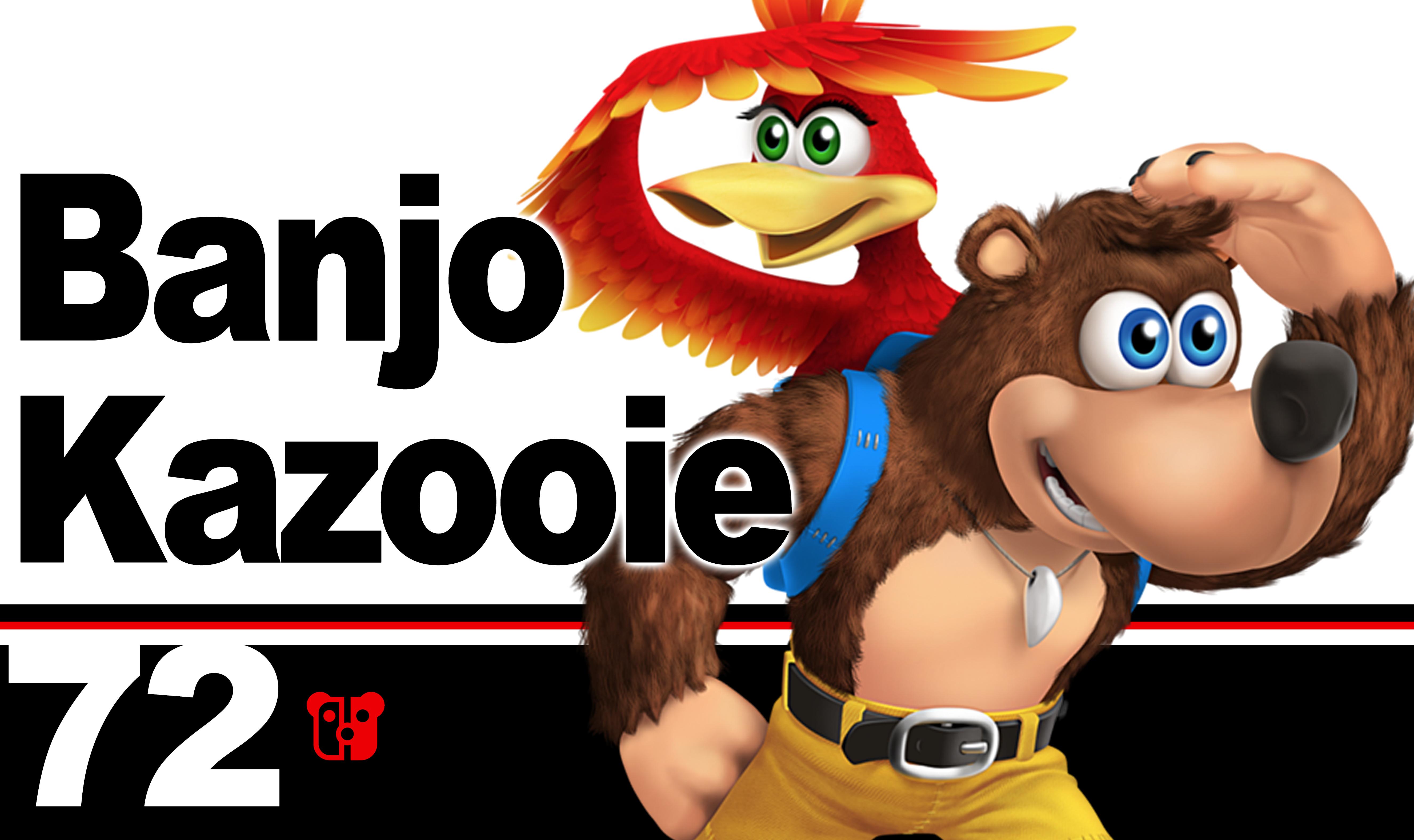 Super Smash Bros. Ultimate Banjo Kazooie