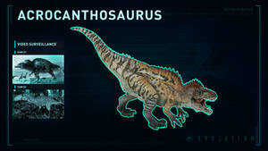 Jurassic World Evolution Acrocanthosaurus