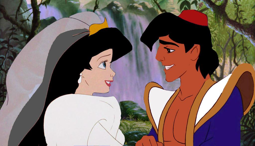 mowgli and melodys wedding portrait by syfynut on deviantart