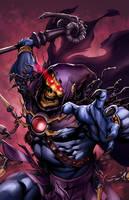 Skeletor Print for Baltimore Comicon (9-7-2013) by popmhan