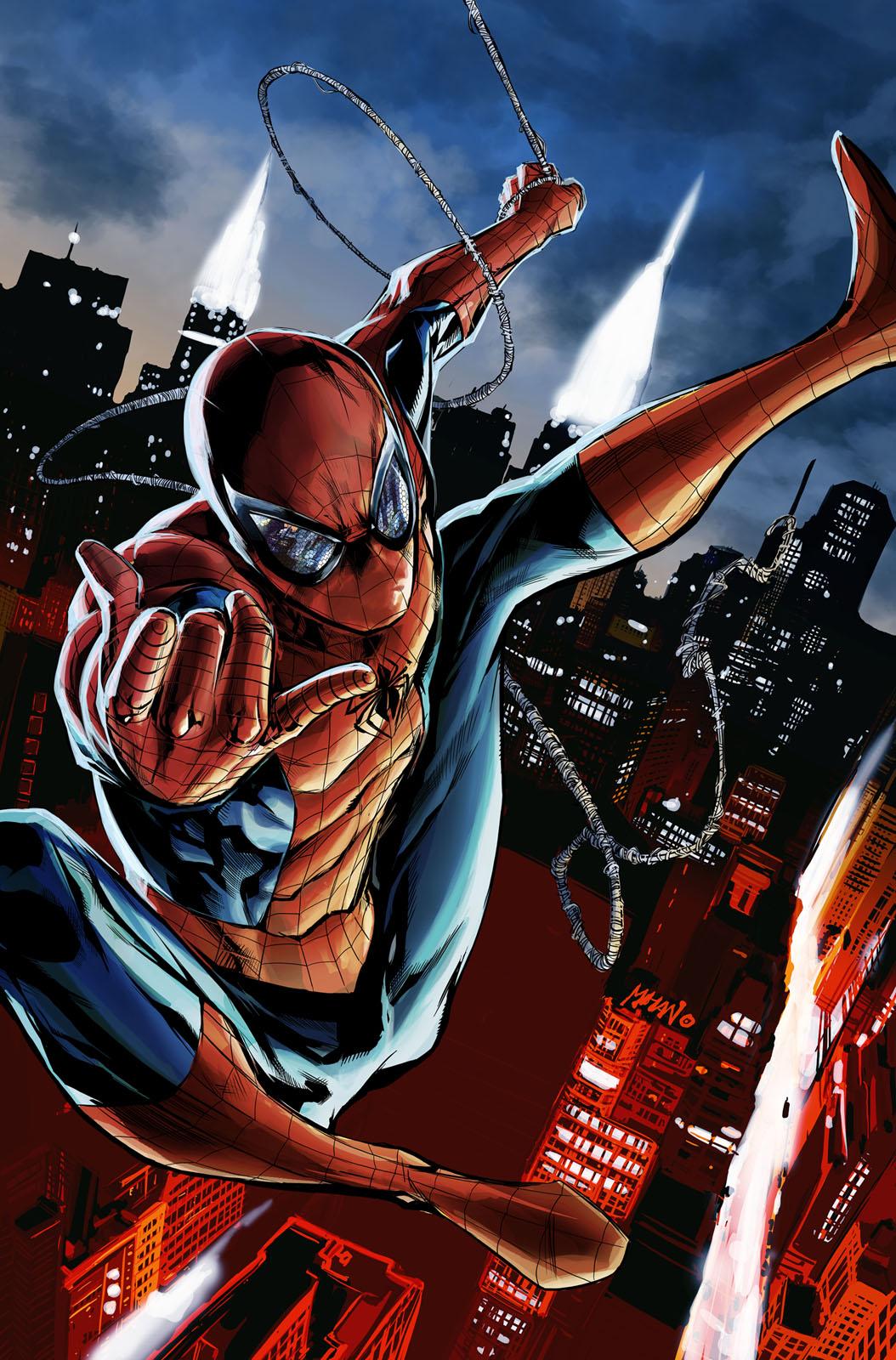 Spider-man! by popmhan