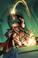 He-man and the Masters of the Universe #13 cover by popmhan