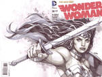 Wonder Woman Cover sketch