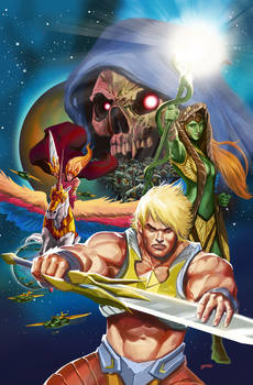 He-man: Eternity War #8 Cover