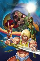 He-man: Eternity War #8 Cover by popmhan