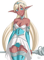 Elf Princess by GeorgePanella