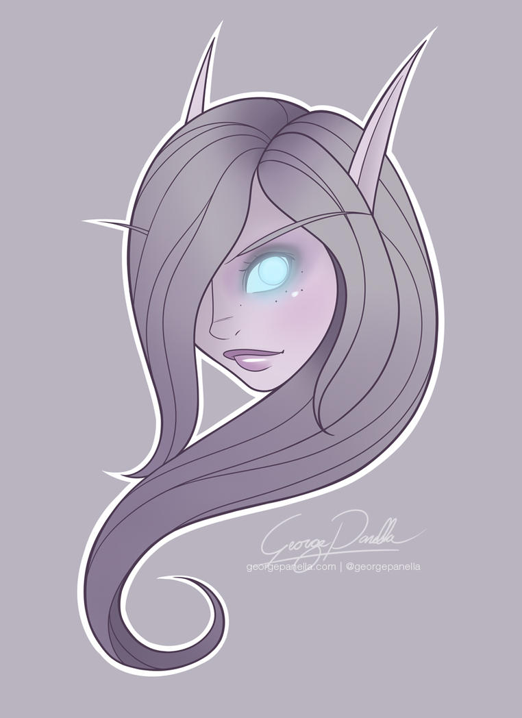 Void Elf by GeorgePanella