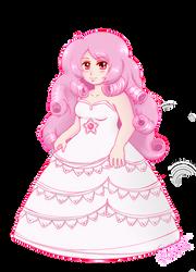 Rose Quartz chibi fan art by Cristal-Zhaduir