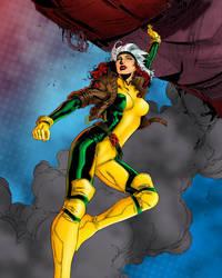 X - men rogue by ralvarias