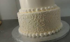 lacy cake closeup