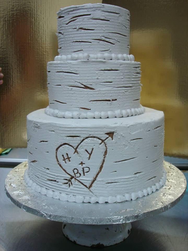 Birch Tree Wedding Cake By XxyummycupcakexX On DeviantArt