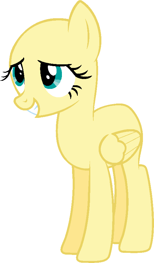 Pony Base 5 by JazzTheTwilightGaia