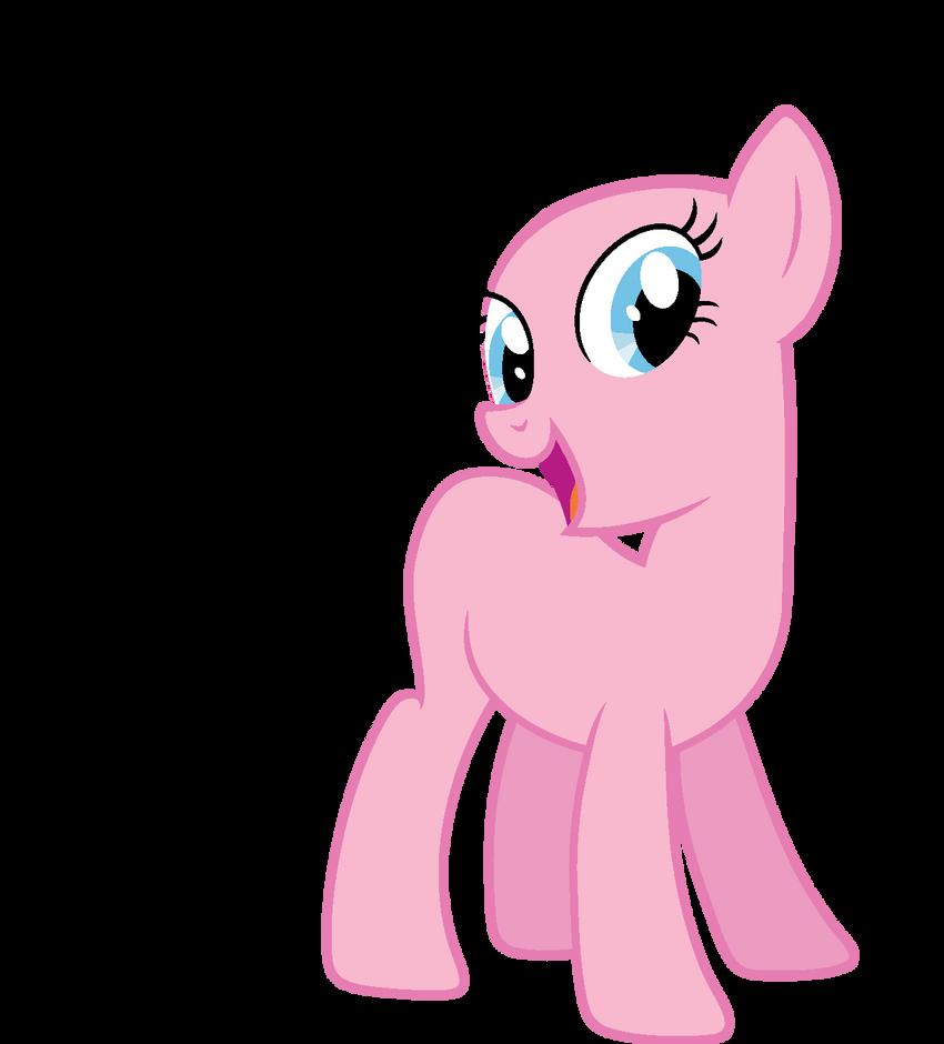 Pony Base 7 by JazzTheTwilightGaia