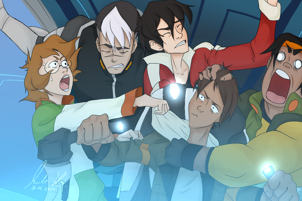 Voltron- screenshot redraw by Nicole9 by Rose1234567890