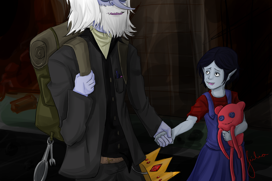 Simon and Marceline by jujulmil