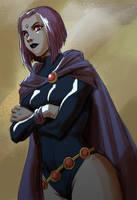 Raven - Teen titans by marioferro