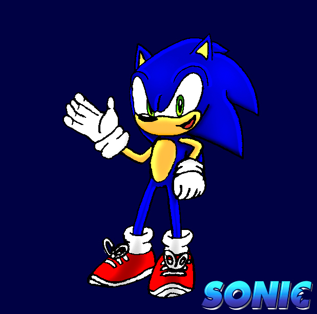 Sonic Artwork My Response To The Movie Design By Acetimerad On Deviantart