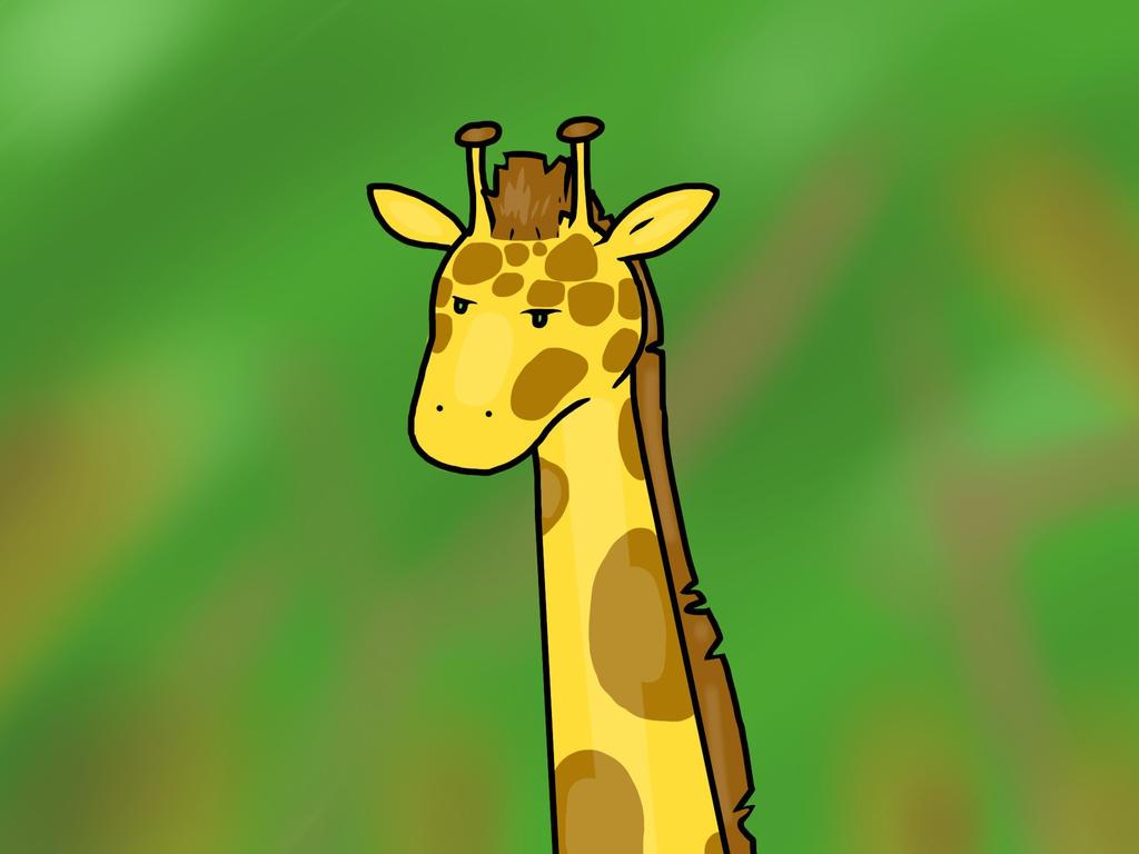 Giraffe by Tommatito