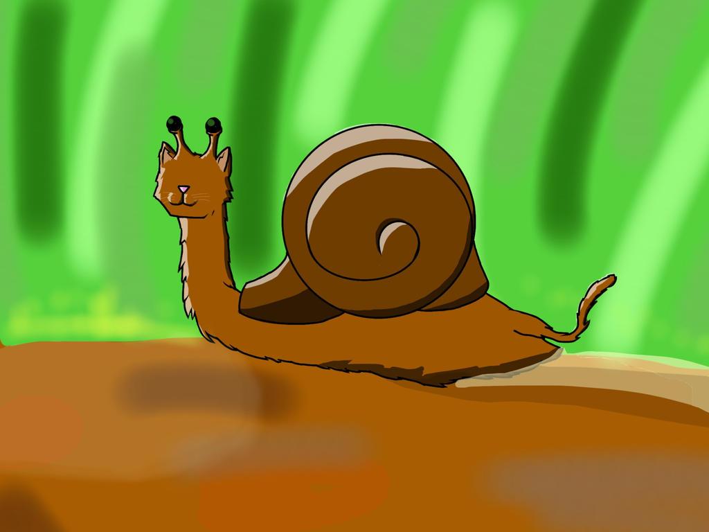 Cat-snail by Tommatito