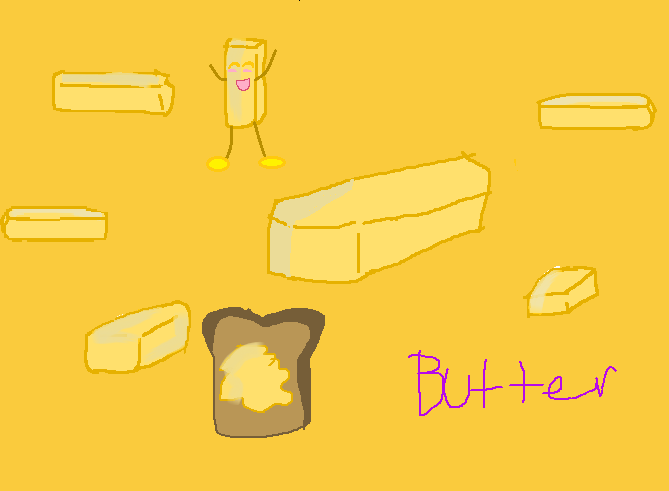 BUTTER DRAWINGS by BACK-OFF-MY-BUDDER on deviantART