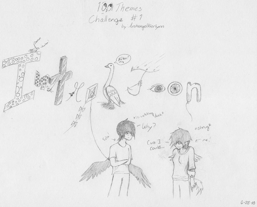 100 Themes: Introduction by ArchangelKierlynn on DeviantArt