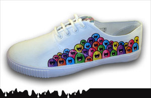 Shoe Design: Happy Jelly Beans by kawaii-explosion