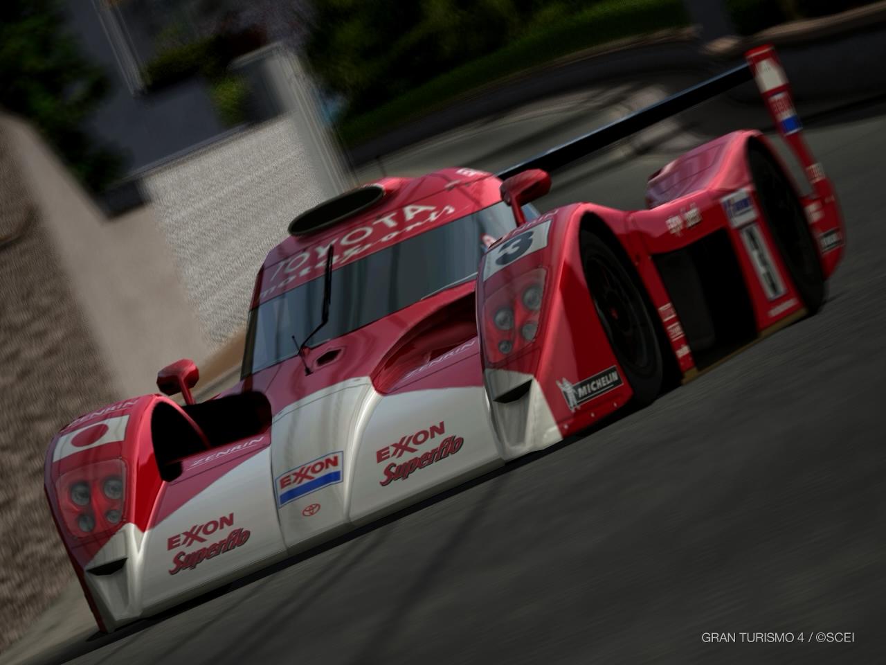 GT4-Toyota GT-ONE Race Car by murumokirby360 on DeviantArt