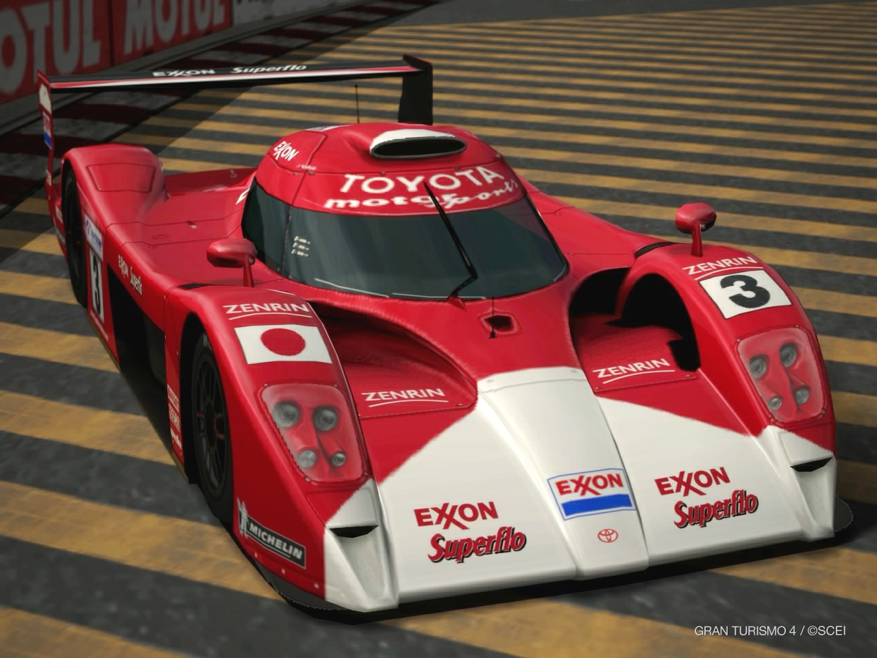 GT4-Toyota GT-ONE Race Car 2 by murumokirby360 on DeviantArt