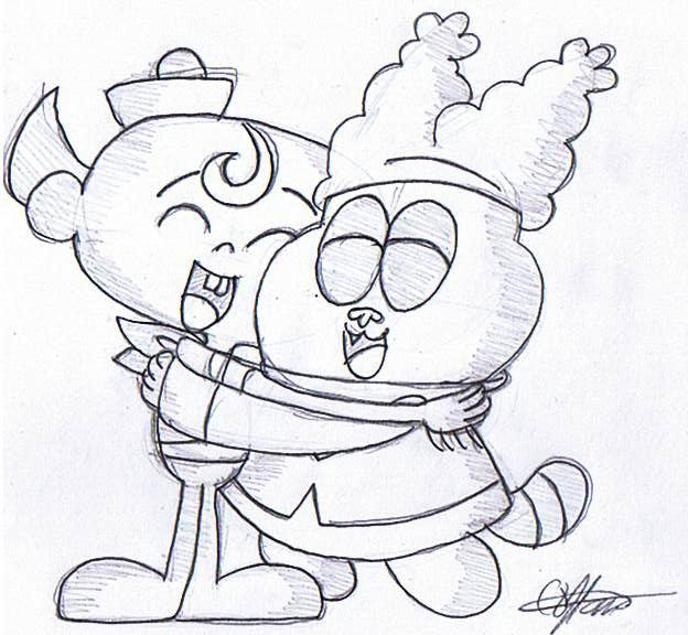 flapjack and chowder coloring pages - photo#3