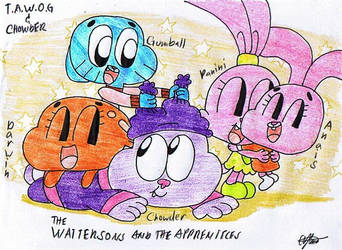 The Wattersons and the Apprentices by murumokirby360