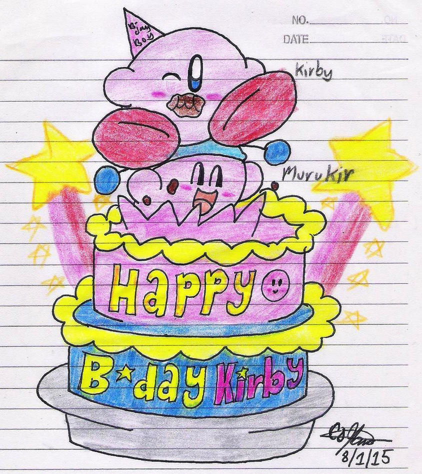 Happy Bday Kirby by murumokirby360