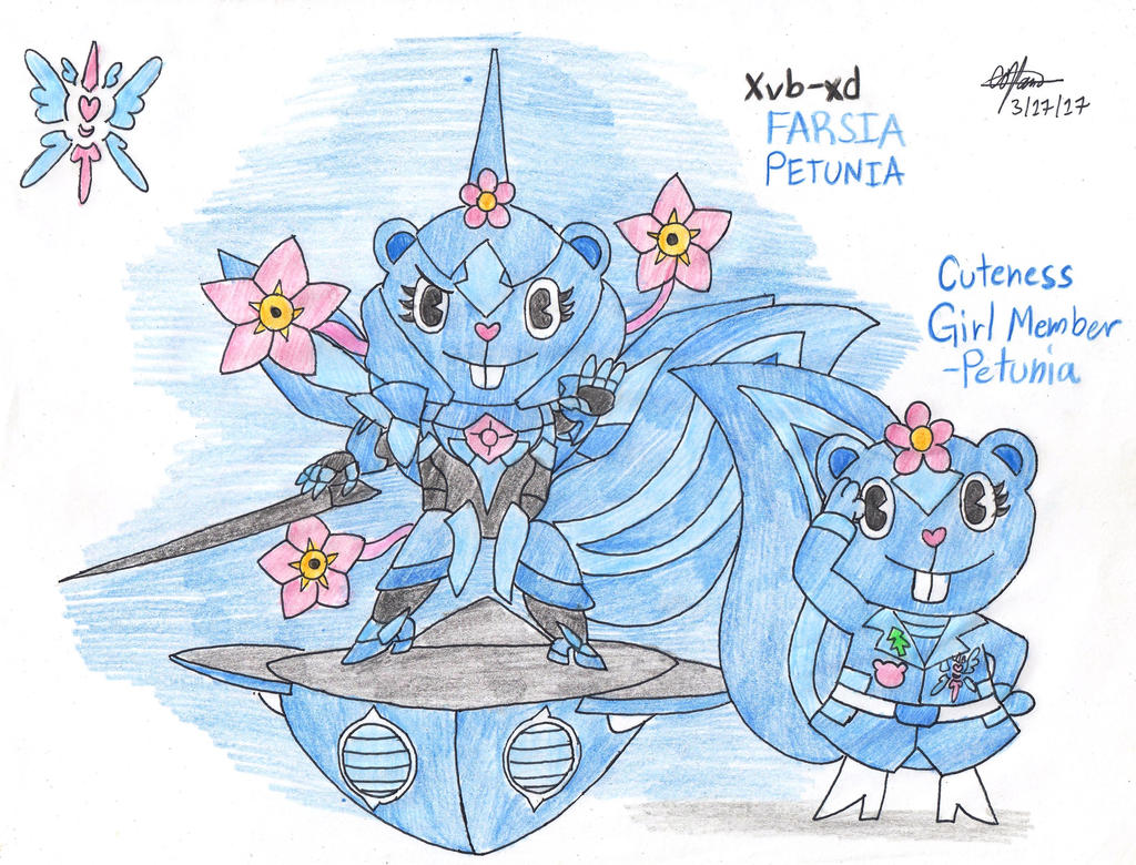 Cuteness Girl Member - Petunia by murumokirby360