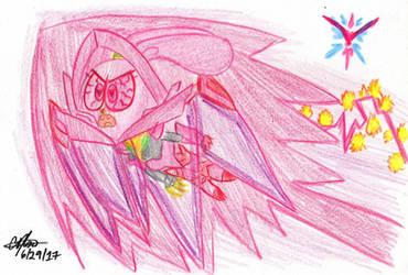 Guren Panini Bullet Dash by murumokirby360