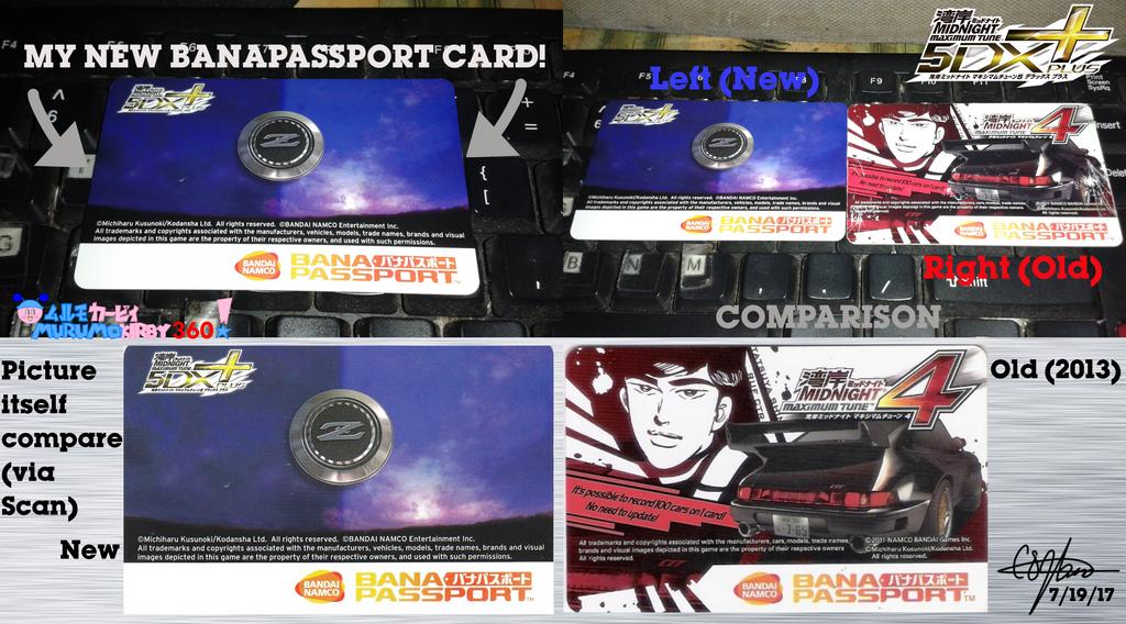 My New BanaPassport card - WMMT5DX+ by murumokirby360