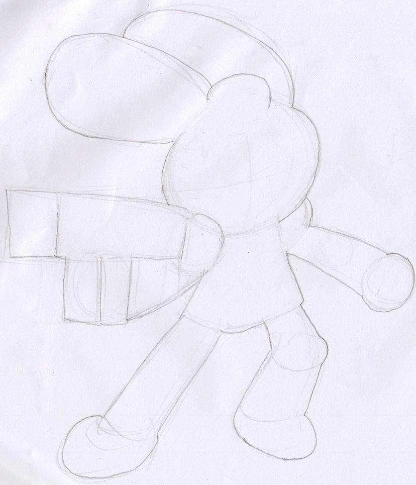 My Upcoming HTF OC Silhouette by murumokirby360