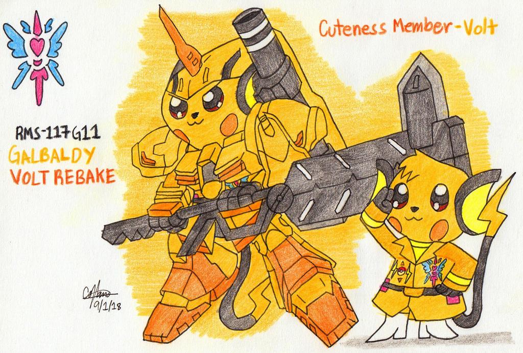Cuteness Member - Volt by murumokirby360