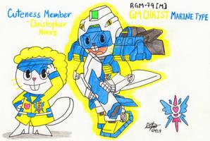 Cuteness Member - Christ by murumokirby360
